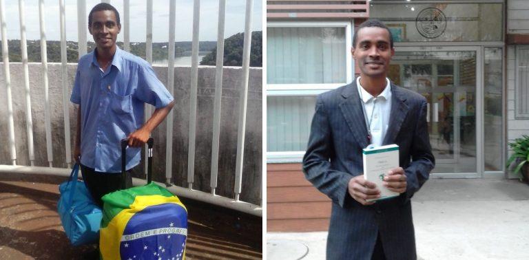 Brasileiro que catava papelão 'pula' mestrado e está fazendo doutorado no Chile