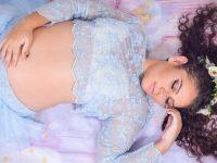 Detentas grávidas e mãe com bebê ganham ensaio fotográfico em presídio da Paraíba