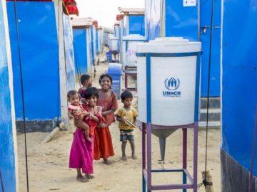 ONU usa energia solar para levar água potável a refugiados rohingya 5