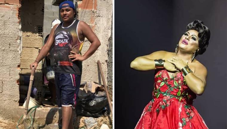 expulso casa drag queen constrói próprio lar