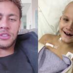 neymar grava vídeo menino luta contra câncer raro