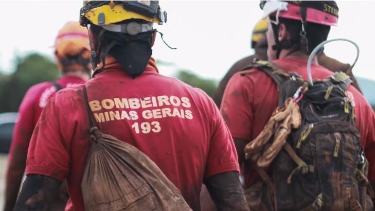 bombeiros brumadinho homenagem sessão vingadores