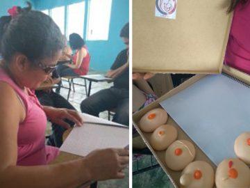 cartilha braille câncer mama orienta mulheres cegas