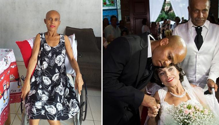 paciente câncer terminal realiza sonho casar campinas sp