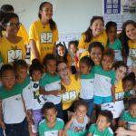 LêComigo promove ação com entrega de livros em escola pública de São Paulo