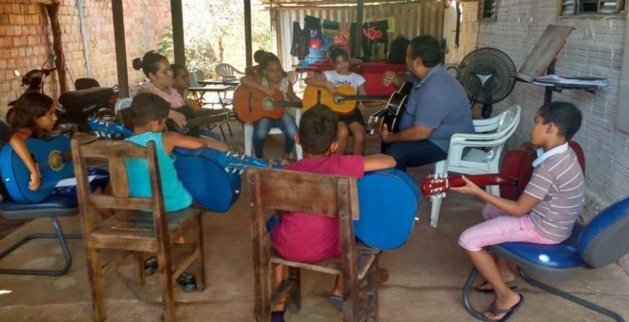 Projeto Social muda realidade de comunidade carente onde fica presídio no Tocantins