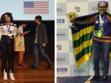 Brasileira de 19 anos coleciona prêmios com pesquisas sobre despoluição dos rios