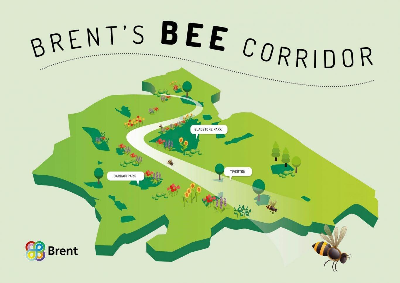 Londres vai criar 11 km de corredor de flores para abelhas