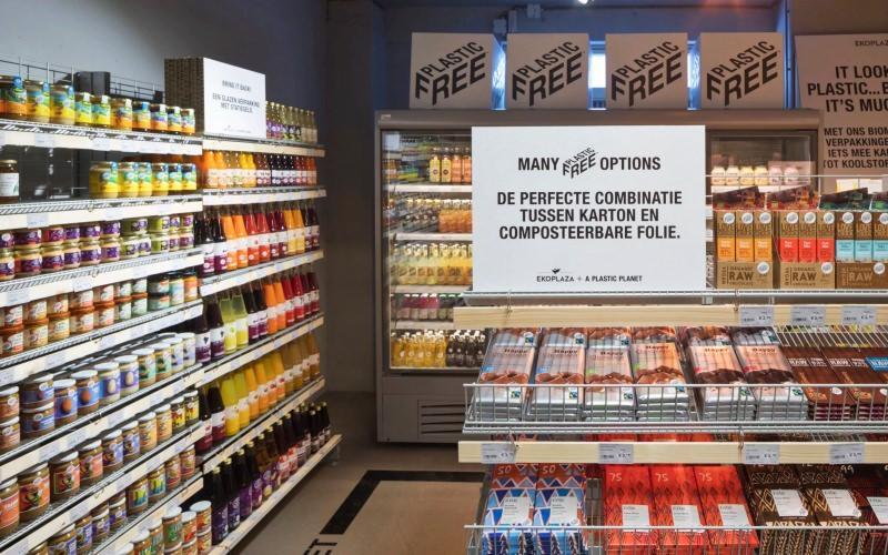 Primeiro corredor sem plásticos do mundo é inaugurado em mercado na Holanda 3