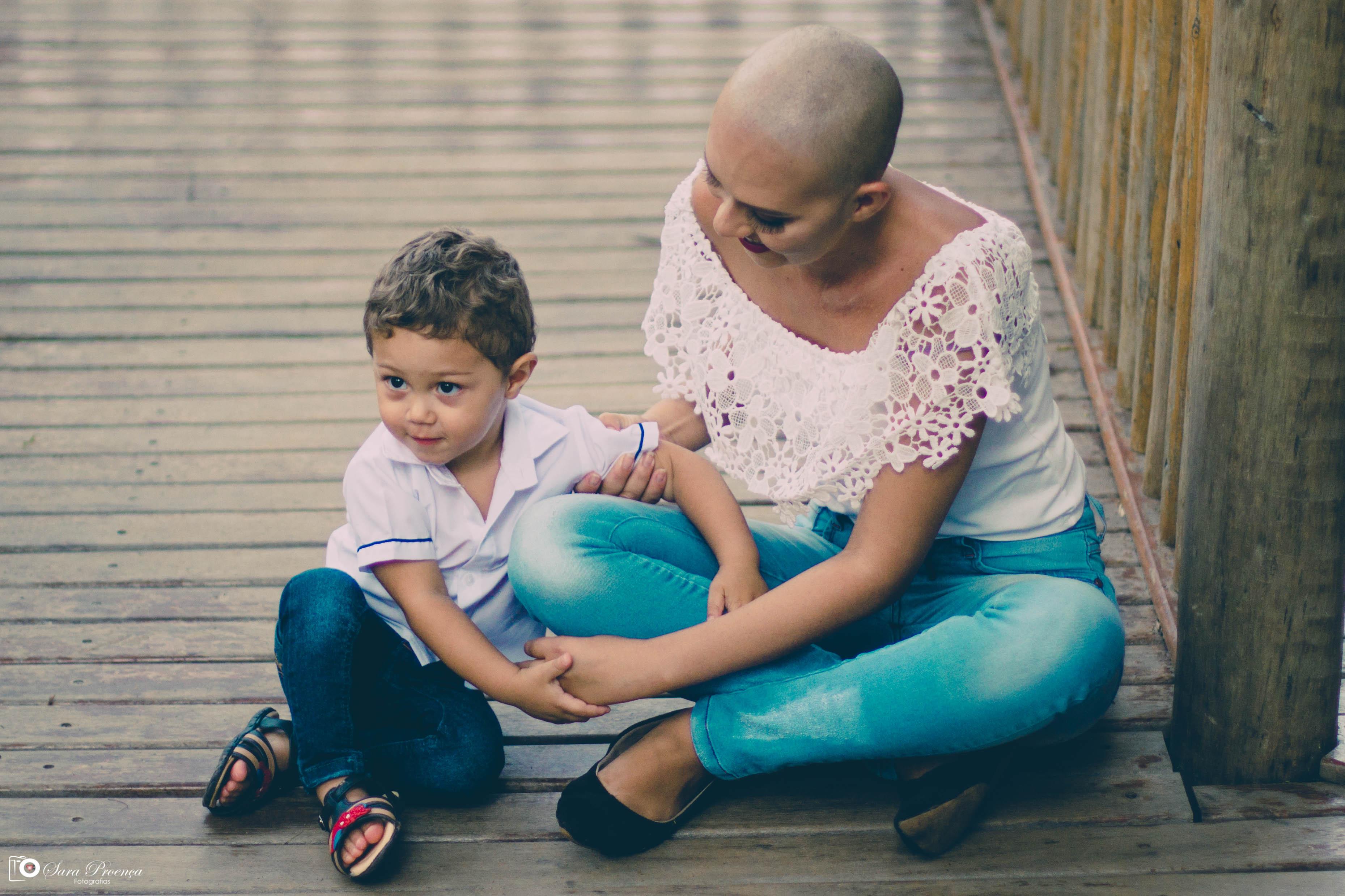 paciente câncer nunca teve fotos filho ganha book voluntários
