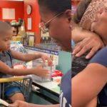 Idosa paga conta de mãe que devolvia produtos em caixa de supermercado