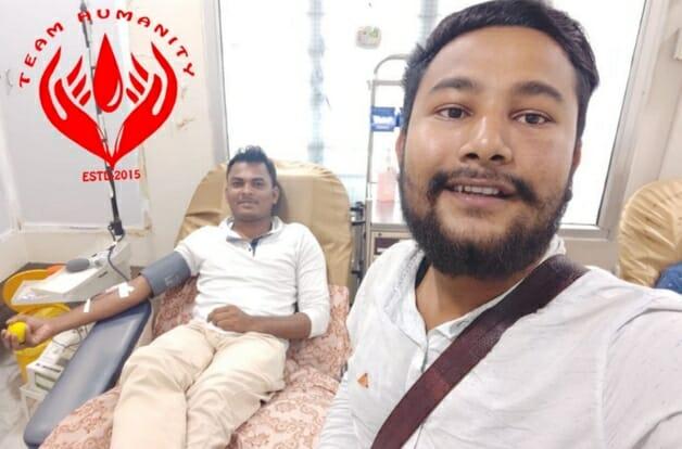 Muçulmano quebra Ramadam para doar sangue e salvar a vida de homem hindu