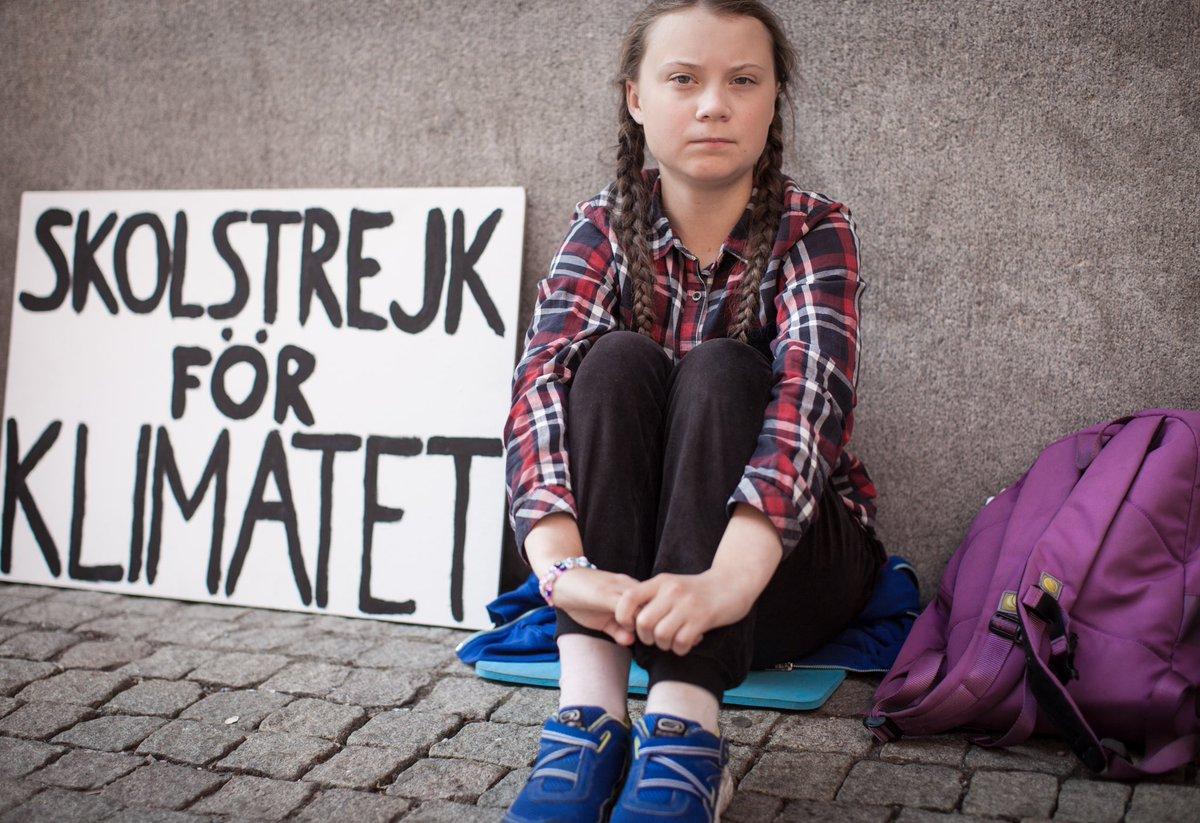 ativista Greta Thunberg indicada Nobel da Paz
