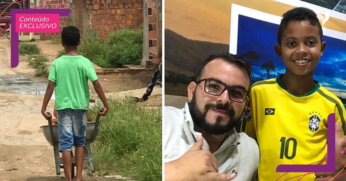 repercussao menino vende tamboretes recebe ajuda todo brasil