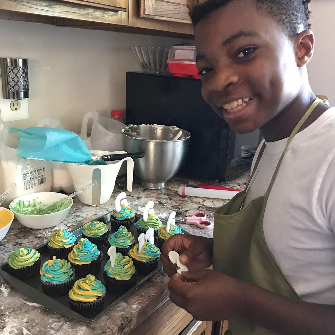 mini-padeiro cupcakes crianças carentes
