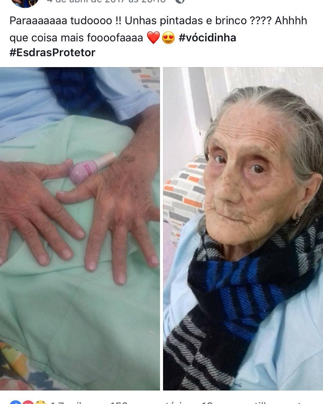 protetor animais resgata idosa