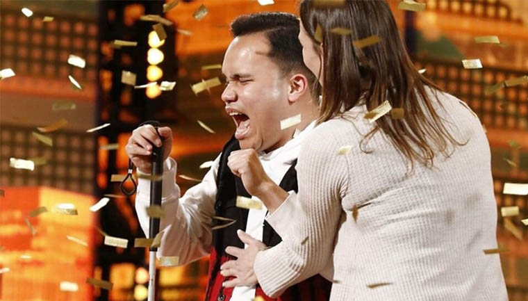 A performance do jovem cego e autista que impressionou os jurados do 'America's Got Talent'
