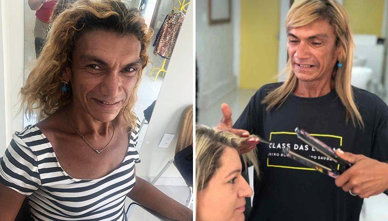 moradora de rua trans precisa ajuda