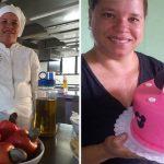 ex-diarista torna técnica gastronomia