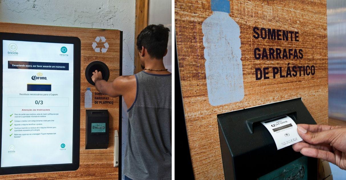 Consumidores pagam cerveja Corona com plástico reciclável na semana mundial dos oceanos 1