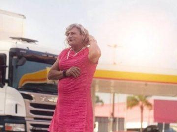 Shell lança campanha com Afrodite, uma caminhoneira trans