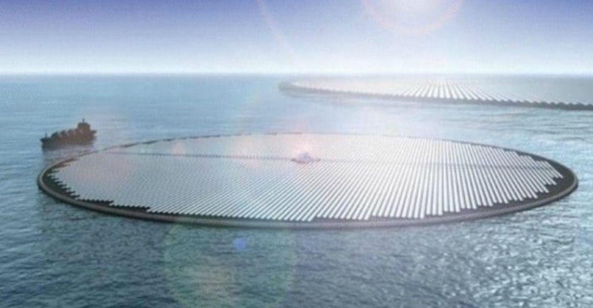 Paesi Bassi per costruire la prima centrale solare galleggiante del mondo