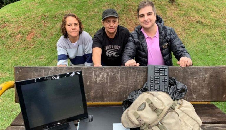 Catadoras encontram equipamento furtado da Santa Casa de Sorocaba dentro de lixo