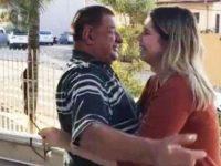 Idoso recebe visita em asilo de sua ídola Marília Mendonça: 'Muito comovida'
