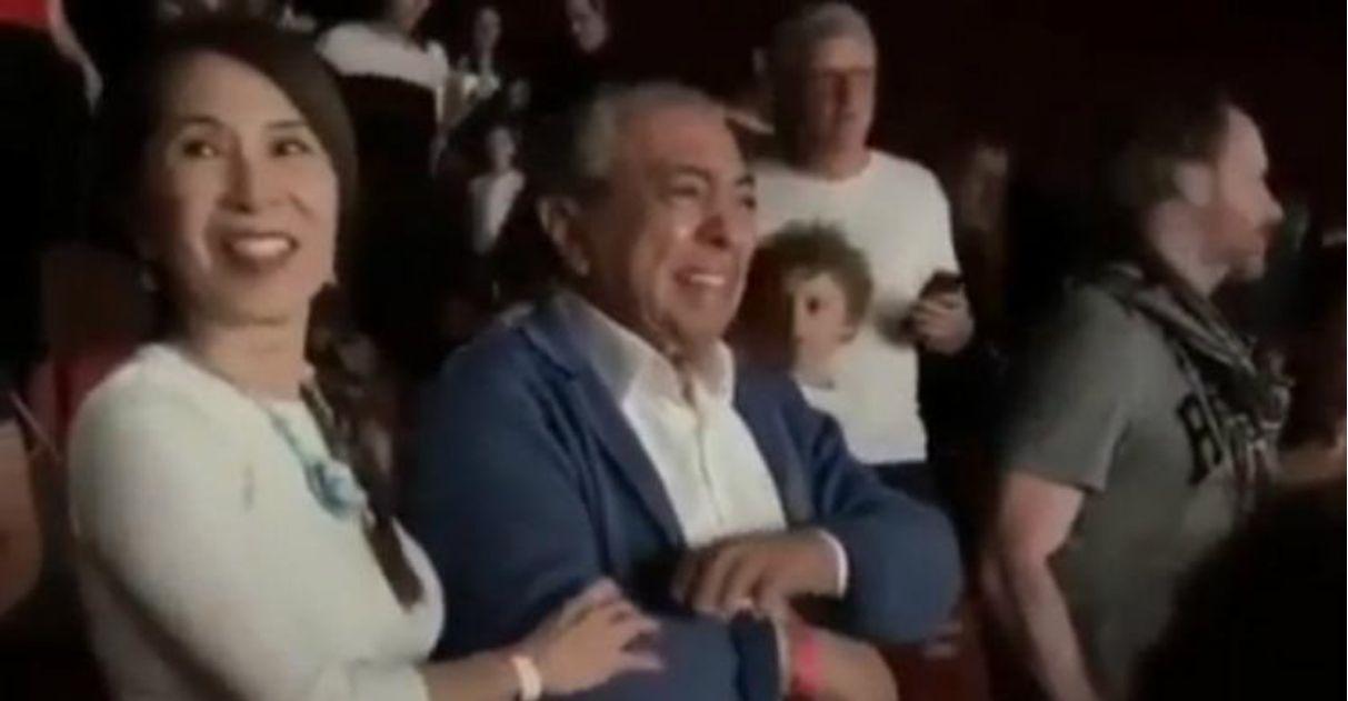 Mauricio de Sousa chora em première do filme 'Turma da Mônica: Laços'
