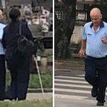 Motorista viraliza na web ao parar ônibus para ajudar mulher cega a atravessar a rua em SP