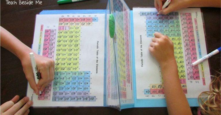 Para ensinar química aos filhos, mãe cria batalha naval com tabela periódica