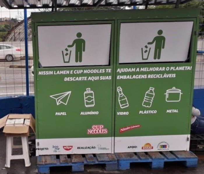 Nissin lança campanha para reciclar embalagens de Cup Noodles pós-consumo