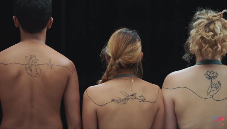 campanha amizade desconhecidos tatuagens