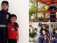 Garoto de 7 anos salva primo engasgado com espinha de peixe com técnica 'Samuzinho'