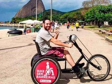 passeios bicicletas adaptadas pessoas necessidades especiais rio janeiro