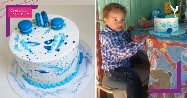 mãe ofendida bolo aniversário filho casal decide ajudar