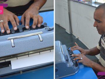 após aprender braille deficiente visual abre negócio