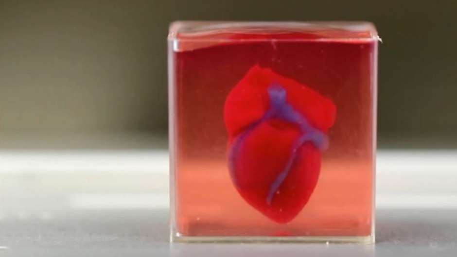 Pela primeira vez, cientistas são capazes de produzir coração completo em impressora 3D