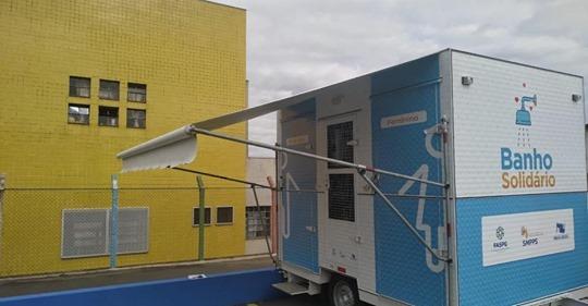 Em meio ao fio, prefeitura disponibilizará banho quente para moradores de rua em Ponta Grossa (PR)