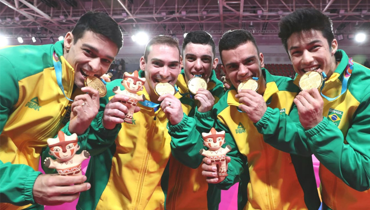brasil ouro taekwondo ginástica jogos panamericanos