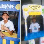 Garoto de 12 anos levanta R$ 15 mil vendendo limonadas e doa para necessitados
