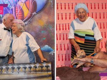 ensaio fofo casal idosos sucesso redes sociais
