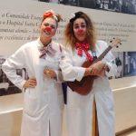 trapamédicos transformam ala pediátrica hospital música diversão
