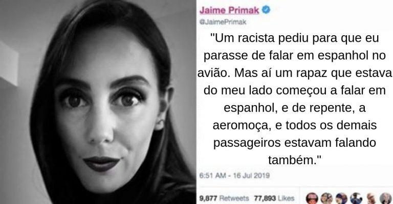 Mulher é vítima de racismo em voo mas recebe apoio de passageiros