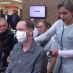 Filho se casa em hospital para pai internado participar do casamento em Santo André (SP)