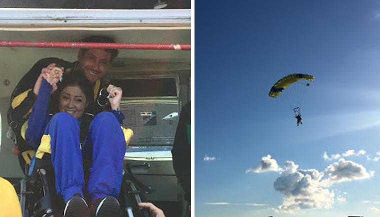 Amazonense se torna a primeira tetraplégica a saltar de paraquedas do Brasil