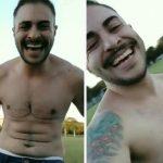 homem trans vídeo celebrando novo corpo