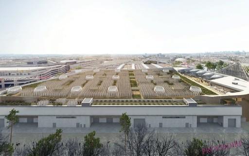 paris construirá maior fazenda urbana do mundo em topo de edifício