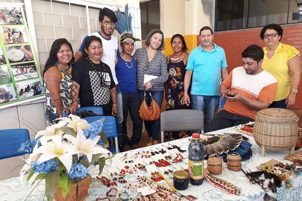 Professora primeira mulher indígena doutora Antropologia UnB