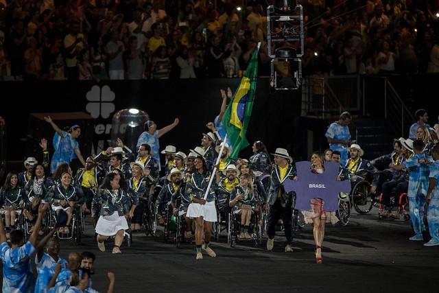 delegação brasileira jogos paralimpicos rio 2016